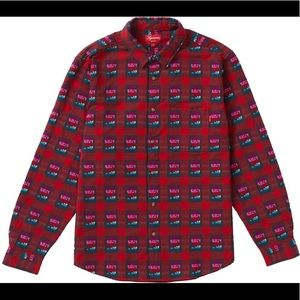 new Supreme Rose Buffalo Plaid shirt Size S